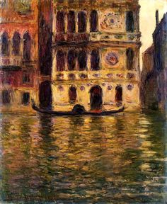 Palazzo Dario Claude Monet - 1908
