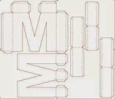 Create decorative stars for pennies diy crafts home decor – Artofit Alphabet 3d, Alphabet Templates, Diy Paper, Paper Art, Paper Crafts, Paper Party Decorations, Diy Storage Boxes, Cardboard Sculpture, Unicorn Crafts