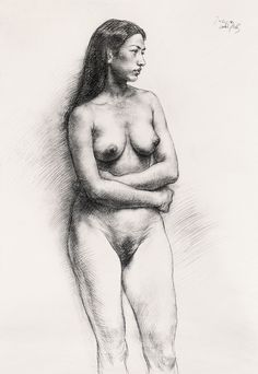 Kai Fine Art is an art website, shows painting and illustration works all over the world. Drawing Board, Life Drawing, Figure Drawing, Painting & Drawing, Nudes, Kai, Cartoon, Fine Art, Drawings