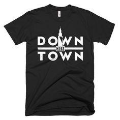 Downtown White Mi Barrio Shirt