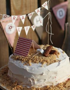 camping party ideas | Camping Themed Girl and Boy Birthday Party Planning Ideas