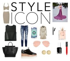 """""""Style Icon Kendall Jenner"""" by tayloremilia13 ❤ liked on Polyvore featuring Calvin Klein, Fendi, Current/Elliott, STELLA McCARTNEY, Ray-Ban, Burberry, Marc by Marc Jacobs, Bobbi Brown Cosmetics and Essie"""