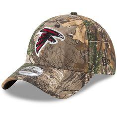 2011e913d43 Men s Atlanta Falcons New Era Realtree Camo Realtree 9TWENTY Adjustable Hat