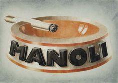 2079011: Poster. LUCIAN BERNHARD (1883-1950). MANOLI. W : Lot 2079011