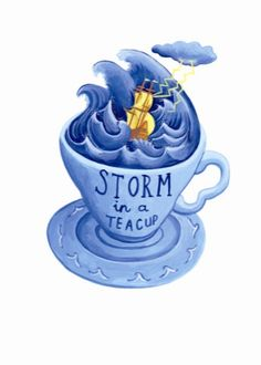 Storm in a Teacup, Juliet Thomas