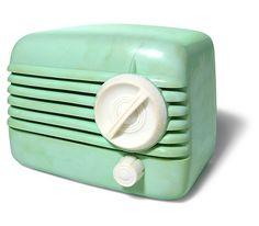 Standard Electric midget radio model 1044, 1950s by galessa's plastics