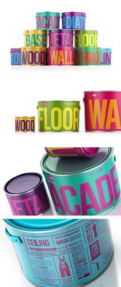 Waldo Trommler Paints Packaging. One of my favorites!