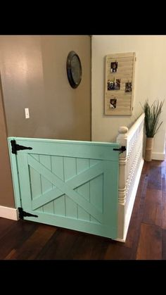 Baby Gate Dog Gate. Great Barn Door Gate!
