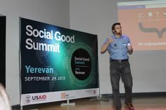Check out the Social Good Summit in Armenia: http://on.fb.me/1b9CSYn