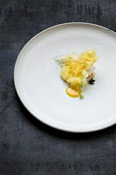 Albert Adrias sponge dessert
