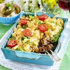 Pasta Salad, Cobb Salad, Food And Drink, Pizza, Snacks, Broccoli, Dinner, Eat, Ethnic Recipes