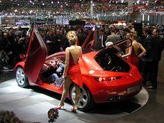2002 Alfa Romeo Brera concetto immagine