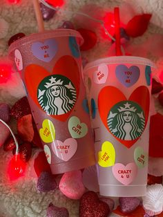 Starbucks Cup Gift, Starbucks Cup Design, Starbucks Valentines, Personalized Starbucks Cup, Custom Starbucks Cup, Personalized Cups, Starbucks Venti, All About Me Crafts, Disney Cups
