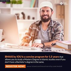 Get ready for Masters in Islamic Studies within 18 months! This short bridge to the Master's program by Islamic Online University will equip you with 16 core courses of the 4 year BA in Islamic Studies. Tafseer, Hadeeth, Seerah, Intensive Arabic and Islamic Online University, Importance Of Time Management, Going To University, Islamic Studies, College Courses, Masters Programs, Schools First, Student Work, 18 Months