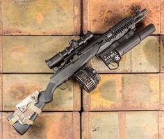Peanut butter & Jelly!! --- @springfieldarmoryinc M1a with @xproducts new…
