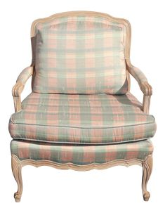 Terrific Images French Country Decorating blue Strategies The french language nation design proceeds to elevate with recognition, based on its environmentally friendly . French Country Bedrooms, French Country Decorating, Unique Furniture, Vintage Furniture, Striped Chair, French Chairs, French Vintage, French Blue, Accent Chairs