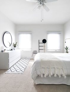 light minimal bedroom