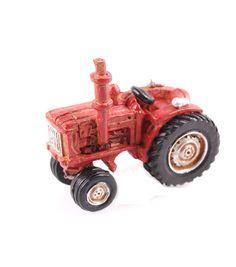 Fairy Garden Resin Tractor-Red