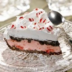 Triple Chocolate Peppermint Pie from Martha White®