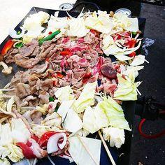 ジンギスカンを頂きました☺  #Japan #hokkaido #hakodate #sapporo #phonto #函館  #北海道 #写真 #カメラ #ジンギスカン #にく #肉 #love #loveit #instagood #instadaily #igers #instacool #food #yummy #foodlovers #foodgasm #yum #eating #foodpic