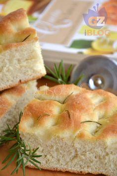 soon focaccia made vert Focaccia Pizza, Bread Recipes, Cooking Recipes, Scd Recipes, Antipasto, Lard, Love Pizza, Artisan Bread, Food Humor