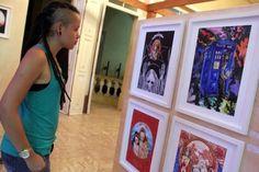 Exposição da Mostra 'A Voz do Fogo' Manaus 2014
