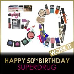 Birthday message from collection cosmetics!