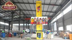 This Frog Hopper tower ride is definitely suitable for amusement parks, theme parks, funfairs, carnivals, indoor or outdoor playgrounds, shopping mall, etc. The great visual appeal, bright colors and attractive frog designs, attractive and stylish coach,safe for kids and adults, make the frog hopper an attractive amusement ride for kids. Email: sales@sinorides.com  Mobile: 86-13523504956  Tel: 86-0371-60253755  Website: http://www.sinorides4u.com/