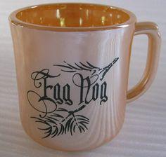 Anchor Hocking Fire King Egg Nog Cup