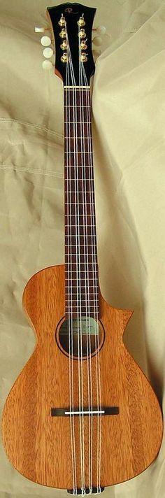 Albert Deakin (Reiner Guitars) Mandolin/Taropatch Ukulele --- https://www.pinterest.com/lardyfatboy/