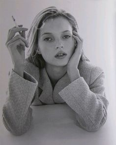 Kate Moss by Itaru Hirama.