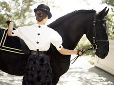 Equine Inspired Fashion Photography by Richard Phibbs