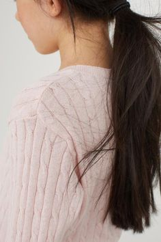 Strukturstickad tröja - Ljusrosa - BARN | H&M SE 2