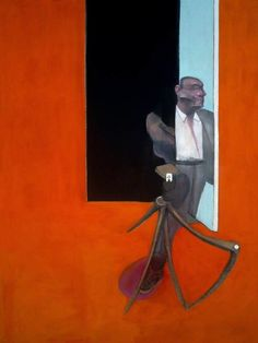 Francis Bacon: Study for a Portrait, March 1991.