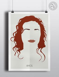 #minimalist #poster #posteritty #art #original #hair #music #toriamos