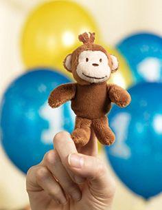 Monkey Plush Finger Puppet BirthdayExpress http://www.amazon.com/dp/B0051ON3ZE/ref=cm_sw_r_pi_dp_rHlSub16A4DHH