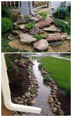 Outdoors Discover 50 Outstanding Landscape Drainage Design Ideas Some Things That Are Needed And Not For La. 50 Outstanding Landscape Drainage Design Ideas Some Things That Are Needed And Not For Landscape Drainage 14 Diy Backyard, Backyard, Plants, Backyard Garden, Garden Yard Ideas, Garden Design, Backyard Landscaping Designs, Outdoor Gardens, Landscape Drainage