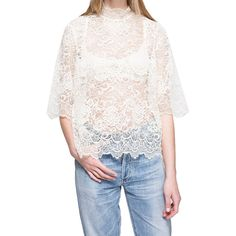 Need Supply Co. - If you like: The Urban Outfitters aesthetic—but more elevated and minimalist.Ganni Parker Lace Blouse, $190