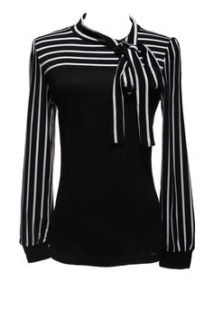 Gender: Women Decoration: Bow Clothing Length: Regular Sleeve Style: lantern Sleeve Pattern Type: Striped Style: Fashion Brand Name: ZANZEA Fabric Type: Broadcloth Material: Cotton,Polyester Collar: T