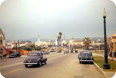 Америка 40-х в цвете • Лос-Анджелес, Калифорния, 1941 год