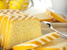 Receta de Panqué de Limón Glaseado