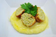 Kapustové karbanátky s nivou a jako příloha bramborová kaše. Vyzkoušejte, je to dobrůtka. Autor: Lacusin