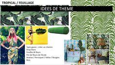 Inspirations défilé : Thème Tropical