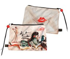 Cute purse with fashion illustration by Bedcrumb