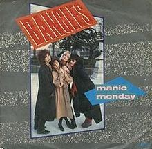 "Single ""Manic Monday"" 1986 (UK)"