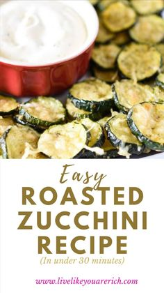 Roasted Zucchini Recipes, Vegetable Recipes, Zucchini Side Dishes, Vegetable Side Dishes, Appetizer Recipes, Dinner Recipes, Appetizers, Low Food Map Diet, Healthy Eating Recipes
