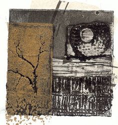 Sue Brown Printmaker: COLLAGRAPH TRAILS