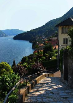 "coiour-my-world: ""Moltrasio, Italy ~ Lake Como, Lombardy "" #italyvacation #italytravelinspiration"