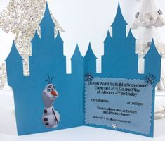 Frozen Birthday Party Invitations Inside view of the Disney Frozen Invitations Disney Frozen Party, Disney Frozen Invitations, Frozen Birthday Invitations, Mickey Mouse Invitation, Frozen Birthday Party, Boy Birthday Parties, Wedding Invitations, Personalized Invitations, Elegant Invitations