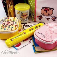 Panpaka Pantsu Click & Lock Bento Pink